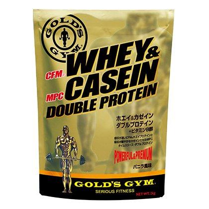 GOLD'S GYM ホエイ&カゼインプロテイン バニラ900g