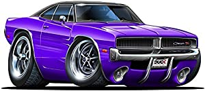 Amazon Com 12 Quot 1969 1970 Dodge Charger R T Hemi Purple