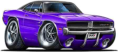 Amazon Com 12 Quot 1969 1970 Dodge Charger R T Hemi Purple