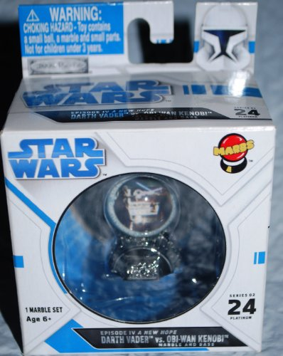 Star Wars Episode IV a New Hope Marble & Base Marbs #024 Darth Vadar vs Obi-Wan Kenobi - 1