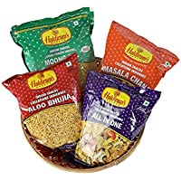 Haldiram Namkeen Combo Pack 4