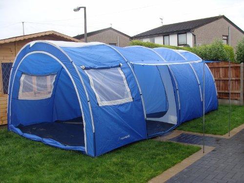 familienzelt camping zelt neu 2 4 6 8 personen test. Black Bedroom Furniture Sets. Home Design Ideas