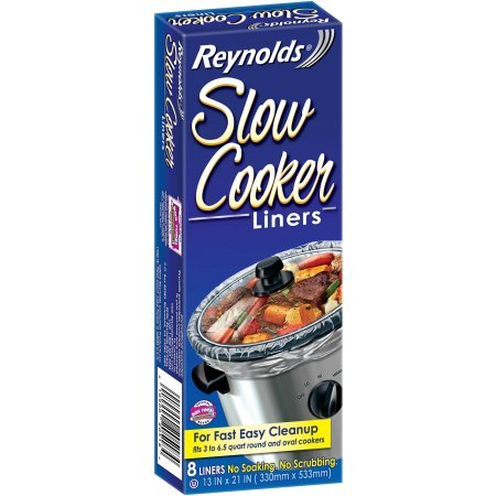Reynolds Slow Cooker Liners, 8 count (Slow Cooker Cheap compare prices)