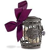 Wine Barrel Cork Cage Ornament w/ Satin Bow