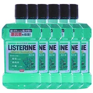 薬用 リステリン 1.5L × 6本 医薬部外品 フレッシュミントリステリン [ヘルスケア&ケア用品]