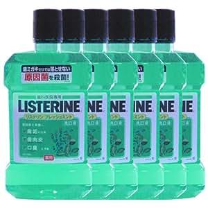 薬用 リステリン LISTERINE 1.5L × 6本 医薬部外品 フレッシュミントリステリン [ヘルスケア&ケア用品]