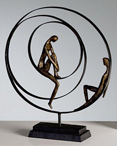 Casablanca Skulptur 'Patience', 34 x 41 cm, bronze thumbnail