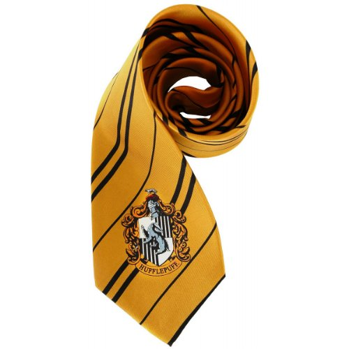 Harry Potter Hufflepuff Deluxe Tie - Accessories & Makeup