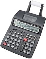 カシオ プリンター電卓 セミデスクタイプ 12桁 HR-170TM-BK-N
