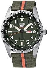 Comprar Seiko  Automatic - Reloj de automático para hombre, con correa de tela, color verde