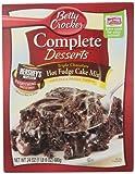 Betty Crocker Complete Dessert Hot Fudge Cake Mix, 24 Ounce (Pack of 4)