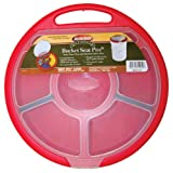 Bucket Boss Brand 10010C12 Storage Bucket Seat with 6-Compartments and 2-Removable Dividers