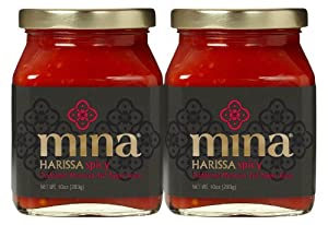 Mina Harissa Pepper Sauce, 10 Ounce Jar from Mina