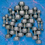 Yukon 5-50 lbs. Hex Dumbbell Set