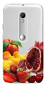 WOW Transparent Printed Back Cover Case For Motorola Moto G (3rd gen)