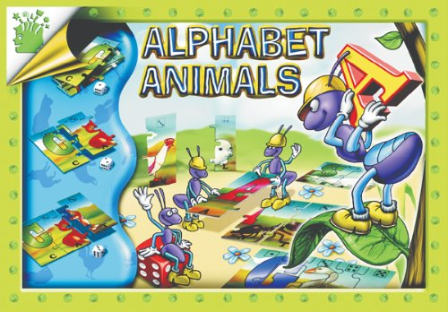 Learning Advantage - Alphabet Animals Matching Game - 1