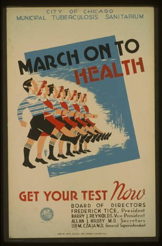 photo-march-on-to-health-get-your-test-now-city-of-chicago-municipal-tuburculosis-sanitarium-1936