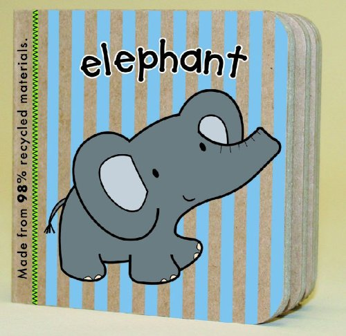 Green Start Book Towers: Little Animal Books: 10 Chunky Books Made from 98% Recycled Materials