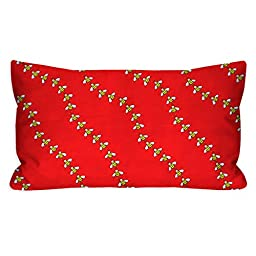 Red Buzzing Bees Toddler Pillowcase, 13X18