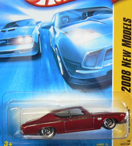 Hot Wheels 2008 017 17 New Models Red '69 Chevelle 1:64 Scale - 1