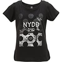 DANSKIN(ダンスキン)【DA74224】Tシャツ フィットネスウェア 吸汗速乾 UV スリット ラメ ドライクール