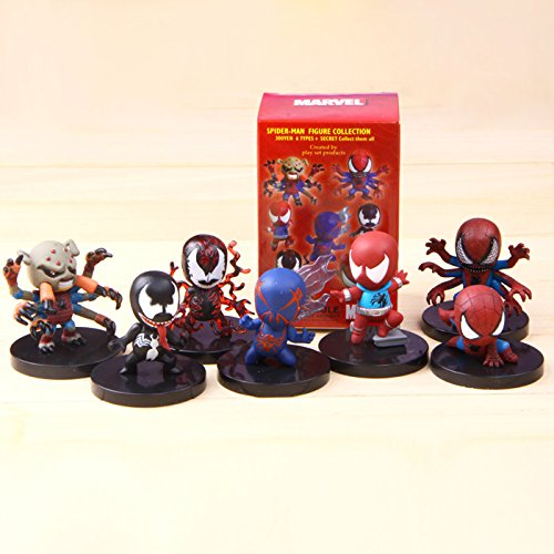 The Avengers Spider Man Spiderman 7 Style/ Set Figure Collection Toy
