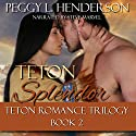 Teton Splendor: Teton Romance Trilogy, Book 2 Audiobook by Peggy L. Henderson Narrated by Steve Marvel