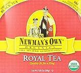 Newmans OwnOrganics Royal Tea, Organic Black Tea, 100 Individually Wrapped Tea Bags, 7.05-Ounce Boxes (Pack of 5)