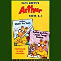 Arthur: Books 3-4 (       UNABRIDGED) by Marc Brown Narrated by Mark Linn-Baker