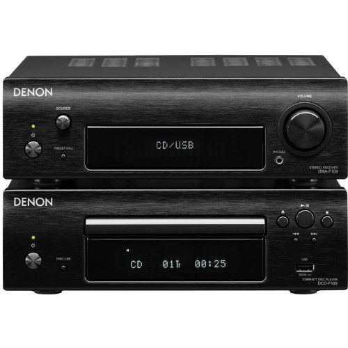 Denon DF109DABC DAB/FM/CD/Receiver Mini Separates System (Black) Black Friday & Cyber Monday 2014