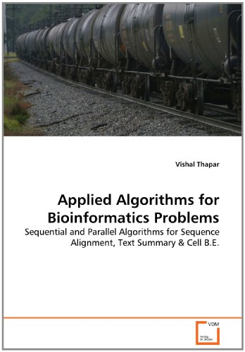 Applied Algorithms for Bioinformatics Problems: Sequential and Parallel Algorithms for Sequence Alignment, Text Summary