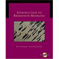 Introduction to Regression Modeling (with CD-ROM) (Duxbury Applied)