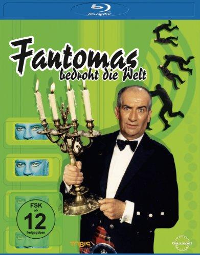 Fantomas bedroht die Welt [Blu-ray]