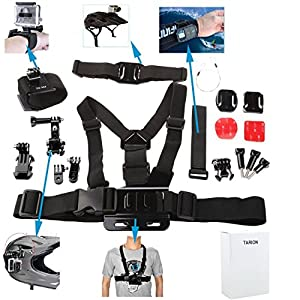tarion kit dei accessori di montaggio per la macchina fotografica gopro hd hero 1 2 3 3. Black Bedroom Furniture Sets. Home Design Ideas