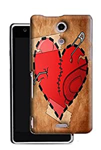 PrintFunny Designer Printed Case For Sony Xperia ZR