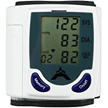 MUCH Digital Wrist Blood Pressure Monitor Heart Beat Meter