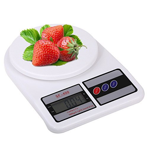 Electronic Kitchen Digital Weighing Scale, E LV Premium Quality Multipurpose LCD Screen Digital Weighing Scale Machine Upto 10 Kg Weight Measure for M available at Amazon for Rs.310