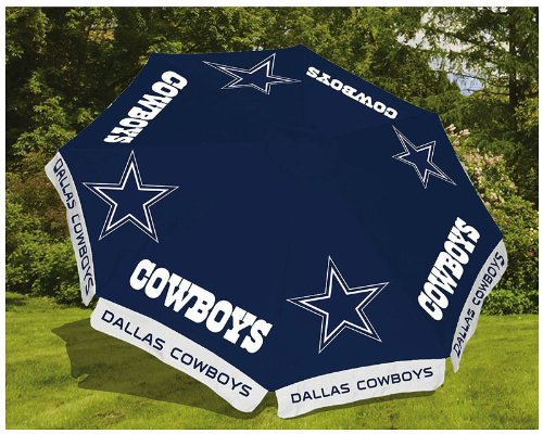 Dallas Cowboys 9ft Market Umbrella at Amazon.com