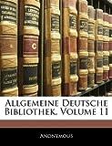 Allgemeine Deutsche Bibliothek, Elfter Band