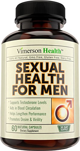 Sexual Health for Men Testosterone Booster - 100% All