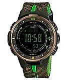 [国内ブランド] CASIO(カシオ) / [カシオ]CASIO腕時計PROTREKプロトレックPRW-3000B-3ブラック×カーキ×グリーンメンズ[逆輸入モデル]
