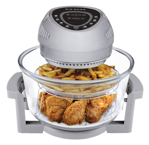 Big Boss 8925 High Speed/Low Energy Digital Oil-Less Fryer, 1300-watt, with Digital Presets