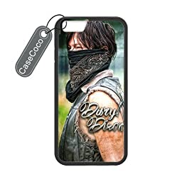 The Walking Dead Daryl Dixon Custom Case Cover Skin Shield for iPhone 6 Case Laser Technology