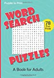 img - for Word Search Puzzles: A Book for Adults book / textbook / text book