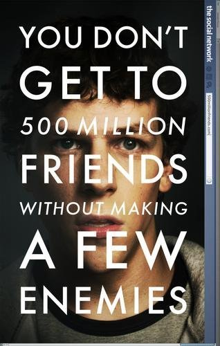 Social Network The Movie Poster 24×36