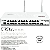 Mikrotik CRS125-24G-1S-2HnD-IN Cloud Router Gigabit Switch 1000mW Wireless Fully manageable Layer 3 24x 10//100//1000