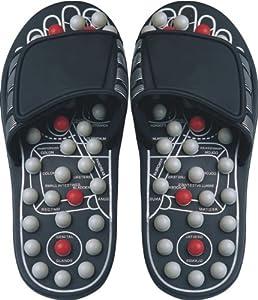 Health King Massage Accupressure Foot Slipper Medium Size fits Men (6-8)/ Women (8-10)