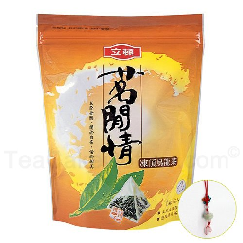Chinese Oolong Tea / Dong Ding (Tung Ting) Oolong Tea / 40 Pyramid Whole Leaves Tea Bags