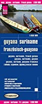 Guyana & Suriname & French Guiana rkh r/v (r) wp GPS (1850)