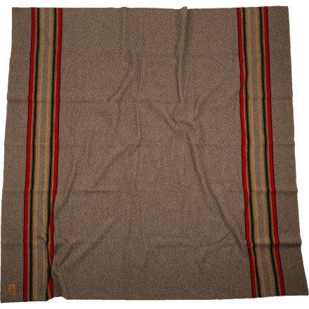 Pendleton Queen Camp Blanket (Mineral Umber) front-350597